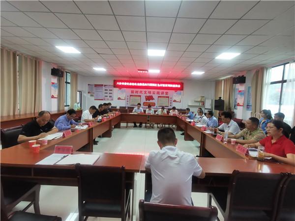 张士华带队赴金寨县开展党史学习教育红色调研活动